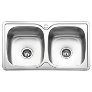 Ανοξείδωτος Νεροχύτης Κουζίνας Σατινέ E 54 80x50