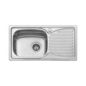 Ανοξείδωτος Νεροχύτης Κουζίνας BL 905 78x43