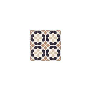 Del Conca Frammenti Fiore Διακοσμητικό Πλακάκι Μωσαϊκό Τερακότα Ματ 20χ20