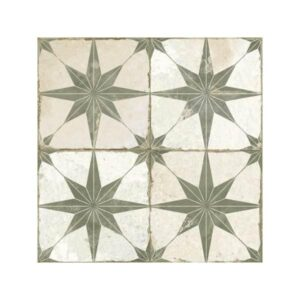 FS Star Saga Πλακάκι Patchwork Vintage με Αστέρια 45x45
