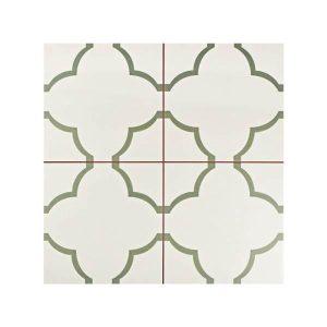 Nuvola Olive Vintage Patchwork Πλακάκι με Σχέδια 45x45