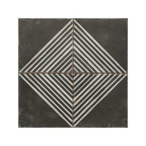 Rombos Vintage Patchwork Πλακάκι με Σχέδια