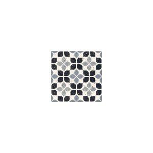 Del Conca Frammenti Fiore Διακοσμητικό Πλακάκι Μωσαϊκό Γκρι Ματ 20χ20