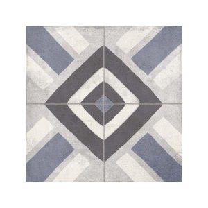 FS Sena Blue Vintage Patchwork Πλακάκι με Σχέδια 45,2x45,2