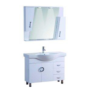Έπιπλο Μπάνιου LONG LIFE Λευκό PVC 100 cm