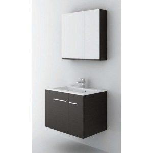 ΣΕΤ Έπιπλο Μπάνιου Box 70 2 Πόρτες σε 6 Αποχρώσεις