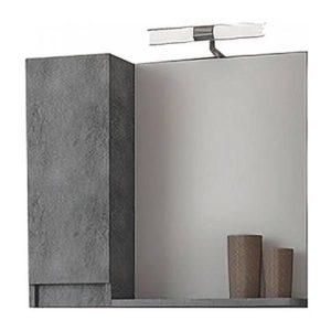 Drop Senso Granite 65 Καθρέφτης Μπάνιου με Ντουλάπι 60χ65