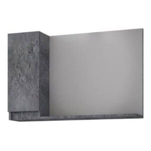 Drop Senso Granite 85 Καθρέφτης Μπάνιου με Ντουλάπι 80χ65 cm