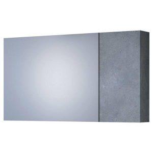 Drop Luxus Granite 100 Καθρέφτης Μπάνιου Ανακλινόμενος με 2 Πόρτες 97χ50