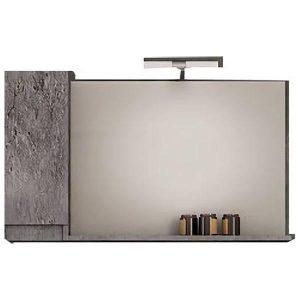 Drop Senso Granite 105 Καθρέφτης Μπάνιου με Ντουλάπι 100χ65 cm