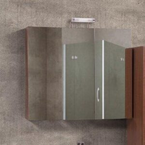 Καθρέπτης Ντουλάπι Μπάνιου Flobali 75-85