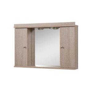 Καθρέφτης Μπάνιου με Ντουλάπια Flobali