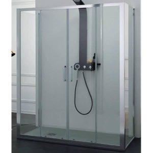 Energy Plus Καμπίνα Μπάνιου Ελεύθερης Τοποθέτησης Σχήμα Π