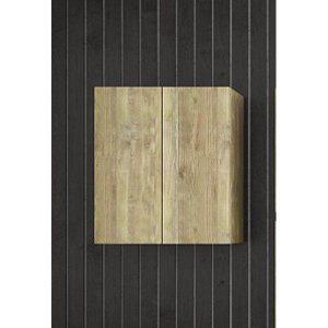 Gold Oak Ντουλάπι Μπάνιου Πλυντηρίου με 2 Πόρτες 60x32x70