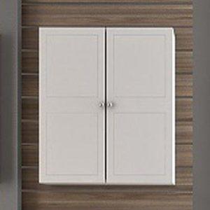 Ντουλάπι μπάνιου Side Λευκό Κρεμαστό 3