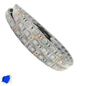 Αδιάβροχη LED Ταινία Μπλε 5 Μέτρα 14,4 Watt/m 12 Volt