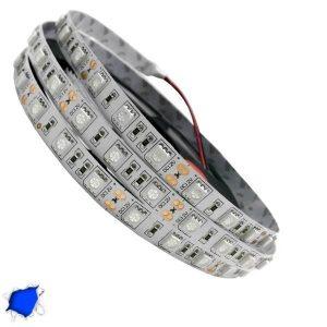LED Ταινία Μπλε 5 Μέτρα 14,4 Watt/m 12 Volt