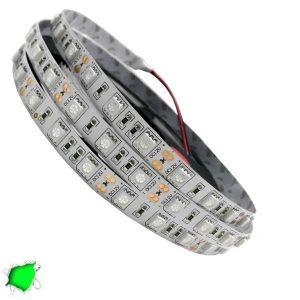 LED Ταινία Πράσινη 5 Μέτρα 14,4 Watt/m 12 Volt