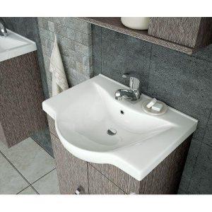 Νιπτήρας Επίπλου Μπάνιου ALBA80 78,5*46 cm