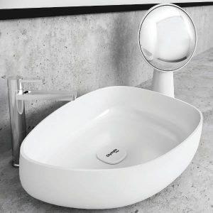 Orabella Metamorfosis 42550 Ιταλικός Νιπτήρας Μπάνιου Επιτραπέζιος Ασύμμετρος