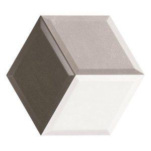 Πλακάκι Τοίχου Diamond Γκρι 33*28,5