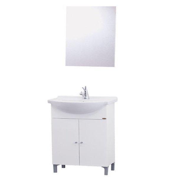 Έπιπλο μπάνιου Firenze 65 Λευκό MDF