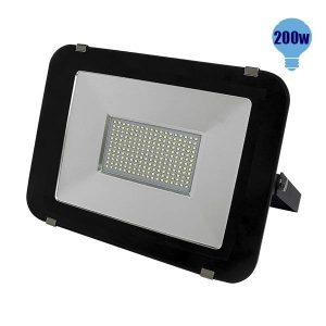 Προβολέας LED Slim 200Watt, 230V, 120°, Ψυχρό