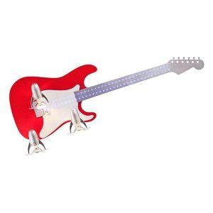 Nowodvorski 4223 Κόκκινο Μοντέρνο Παιδικό Φωτιστικό Τοίχου Κιθάρα με Led