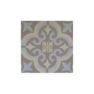 Antigue Blue Vintage Patchwork Πλακάκι με Σχέδια 33x33