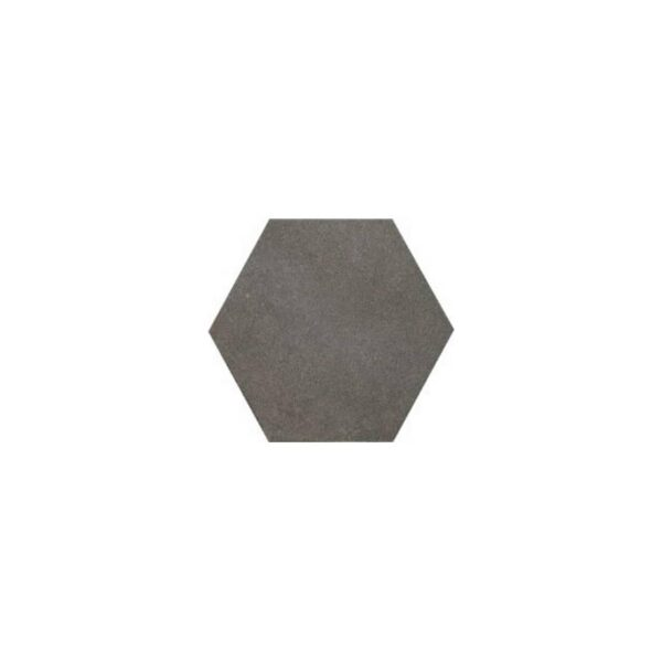 Πλακάκι Εξάγωνο Rewind Σκούρο Γκρι Ματ 21x18,2