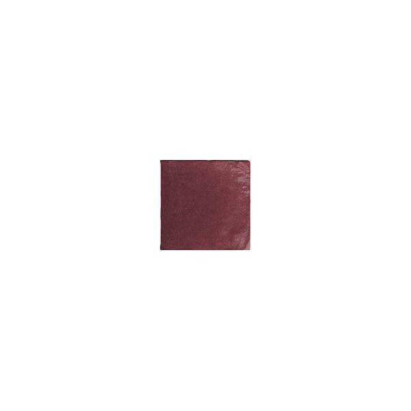 Artisan Μπορντό Γυαλιστερό Πλακάκι Μπάνιου Κουζίνας Τοίχου 13,2χ13,2