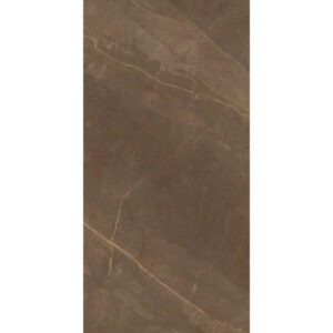Pulpis BR Πλακάκι Μεγάλου Μεγέθους Γυαλιστερό Καφέ 60x120