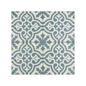 FS Berkeley Blue Vintage Patchwork Πλακάκι με Μπλε Σχέδια 45χ45 cm