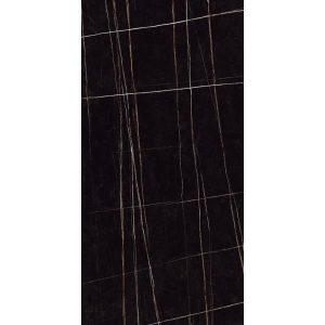 Sahara Μεγάλο Πλακάκι Τύπου Καταρράκτη Μαύρο Γυαλιστερό 60x120