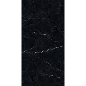 Marmo Πλακάκι Τύπου Μάρμαρο Μαύρο Γυαλιστερό Μεγάλο 60x120