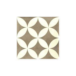 Tortota Vintage Patchwork Πλακάκι Ματ με Σχέδια 33x33