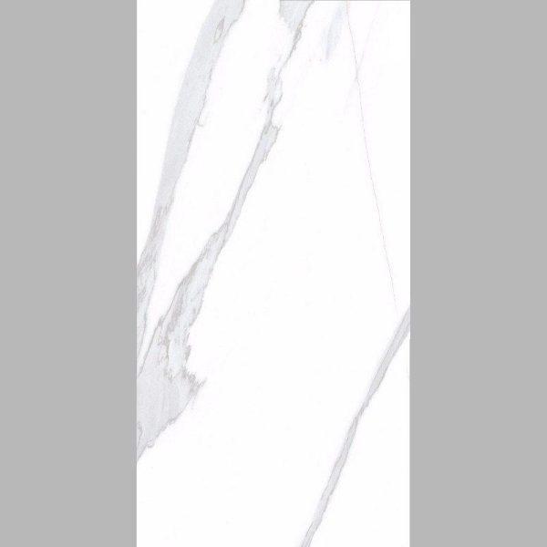 Πλακάκι Τύπου Μάρμαρο Satvario Blanco Γυαλιστερό 60x120