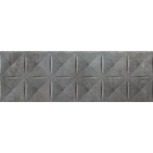 Πλακάκι Μπάνιου Koke Relieve Anthracite Ματ 20x60