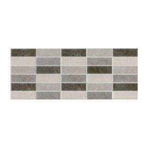 Πλακάκι Μπάνιου Portland Gris Mosaico Mix 20x50