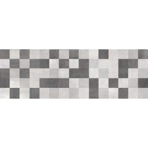 Πλακάκι Μπάνιου Serdika Cosmos Relieve Anthracite Ματ 20x60