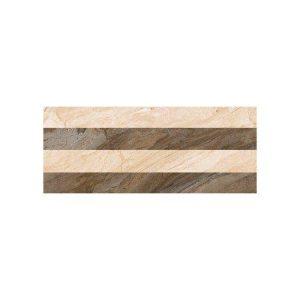 Πλακάκι Τοίχου Decor UMBRIA Papier Tabaco 24.2X68.5
