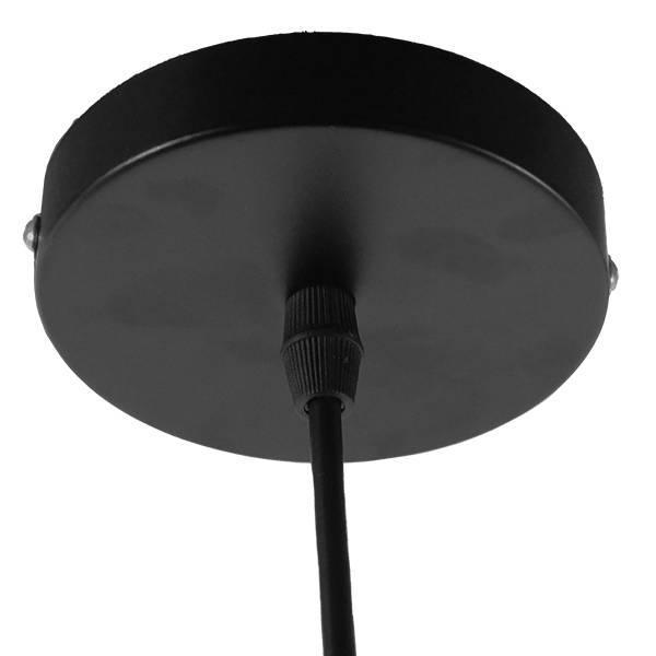 CUBE 01015 Industrial Μαύρο Κρεμαστό Φωτιστικό Κύβος Ø25