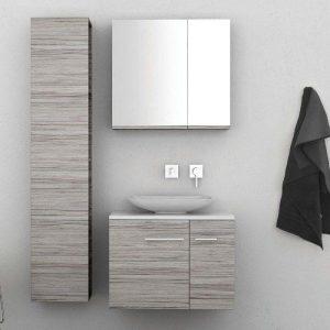 ΣΕΤ Έπιπλο Μπάνιου Solid Surface 70 2 Πόρτες σε 6 Αποχρώσεις