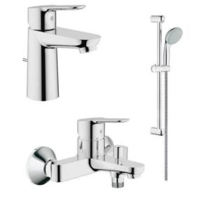 Set Μπαταριών Grohe Bauedge με Βέργα, Σπιράλ, Τηλέφωνο