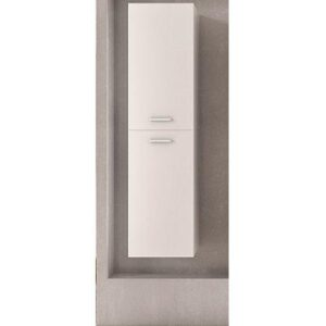 Στήλη μπάνιου Side Κρεμαστή Λευκή