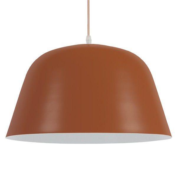 NORTHVALE 01283 Industrial Κόκκινα Κεραμιδί Κρεμαστό Φωτιστικό Καμπάνα Ø40