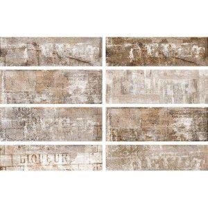 Πλακάκι Επένδυσης Τοίχου Στυλ Τουβλάκι Murales Writers 10*30