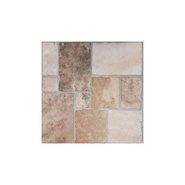 Πλακάκι Εξωτερικού Χώρου Thasos Beige Στυλ Πέτρας 45x45