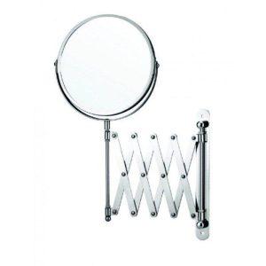 10902 Μεγεθυντικός Καθρέφτης Μακιγιάζ - Μπάνιου Πτυσσόμενος 2 Όψεων χ2 Φ17