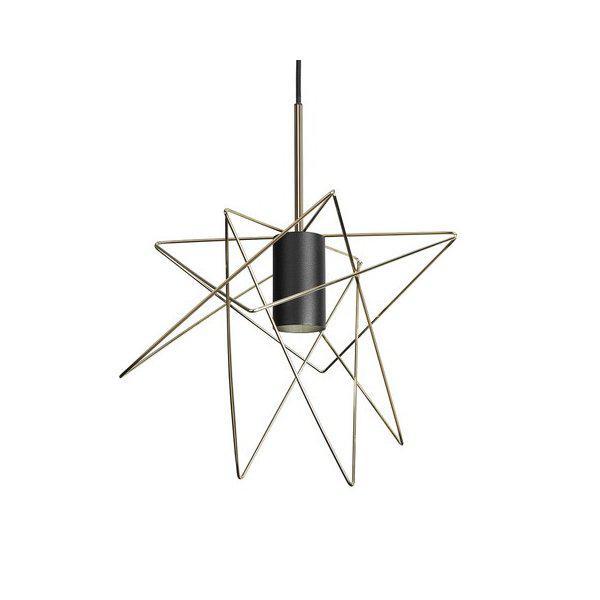 Nowodvorski GSTAR 8854 Industrial Κρεμαστό Φωτιστικό Χρυσό Αστέρι
